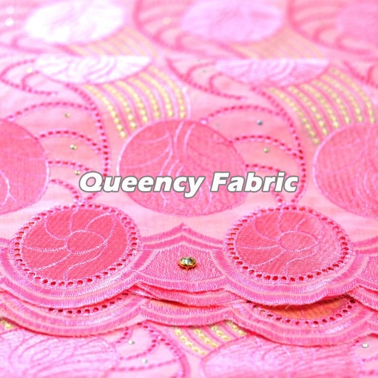 Heavy Swiss Lace Voile Fabric